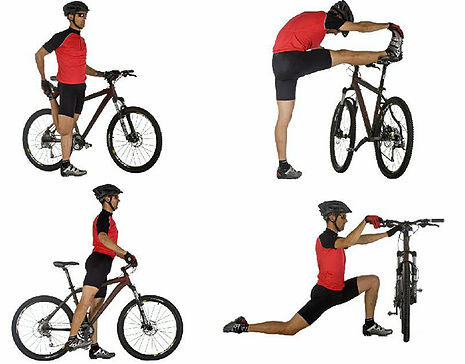Estiramientos básicos para antes y después de ejercicio
